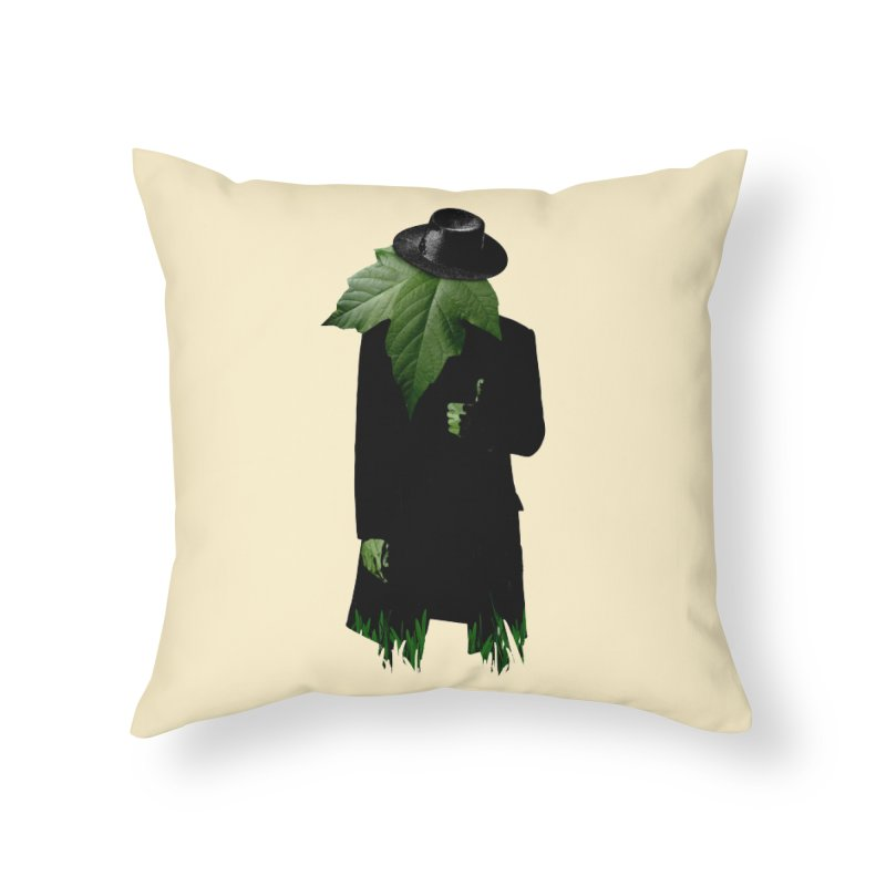 Mr. Greenthumb! Home Throw Pillow by sustici's Artist Shop
