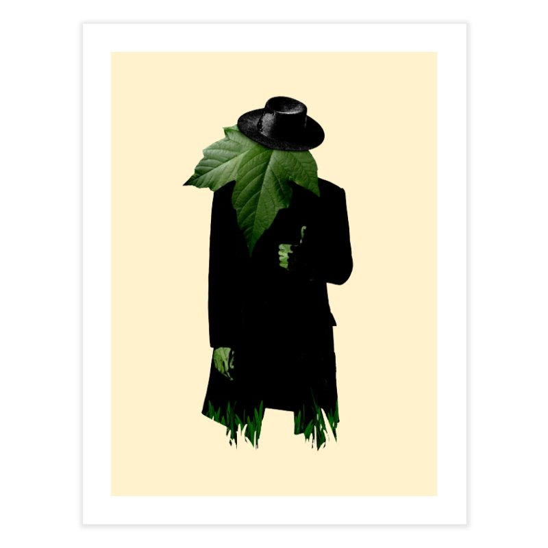 Mr. Greenthumb! Home Fine Art Print by sustici's Artist Shop
