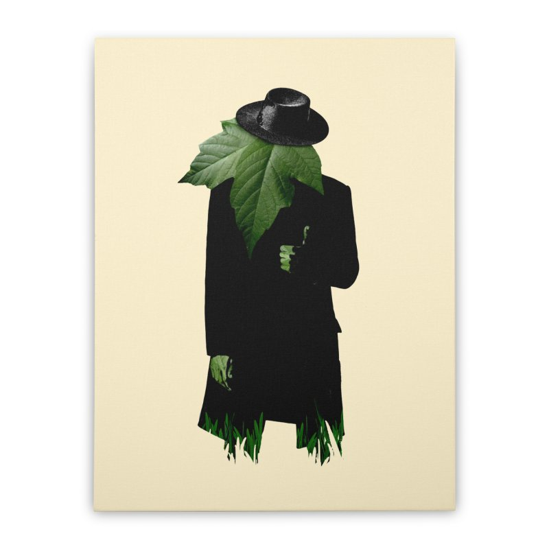 Mr. Greenthumb! Home Stretched Canvas by sustici's Artist Shop