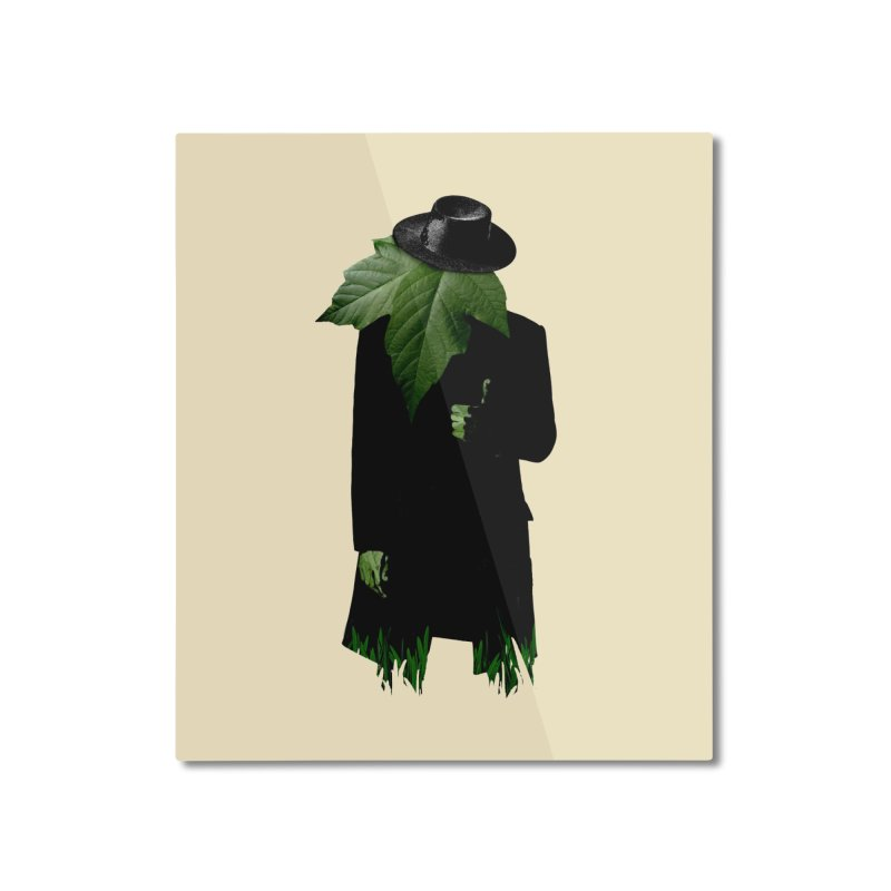 Mr. Greenthumb! Home Mounted Aluminum Print by sustici's Artist Shop
