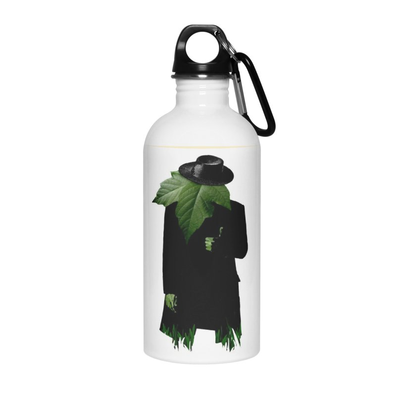 Mr. Greenthumb! Accessories Water Bottle by sustici's Artist Shop