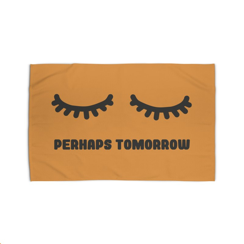 perhaps tomorrow Home Rug by sustici's Artist Shop