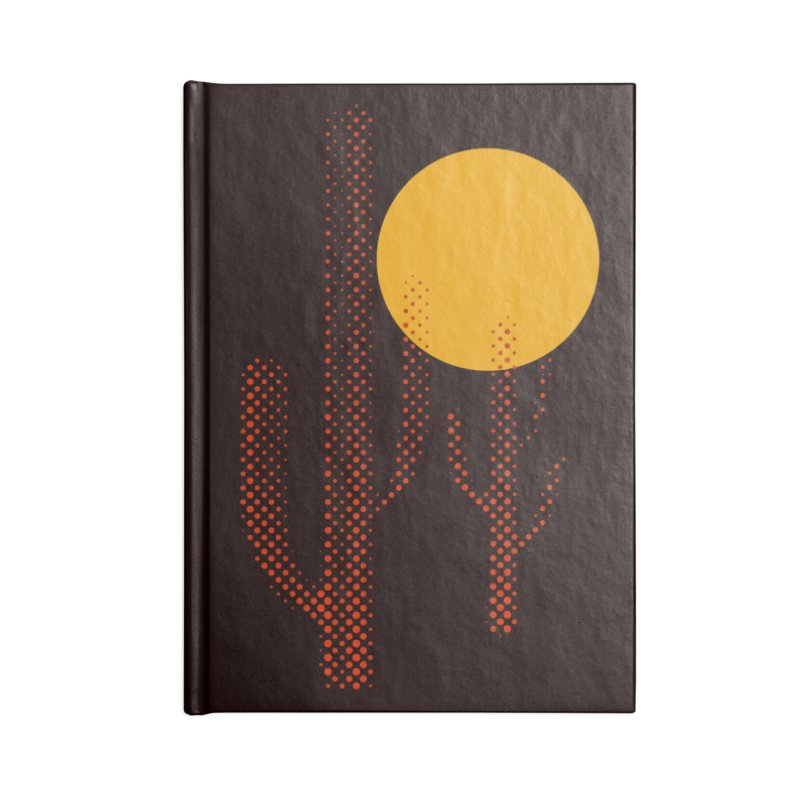 red hot chili cactus Accessories Notebook by sustici's Artist Shop