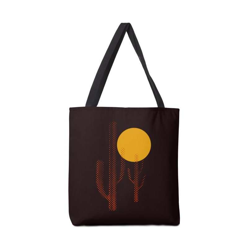 red hot chili cactus Accessories Bag by sustici's Artist Shop