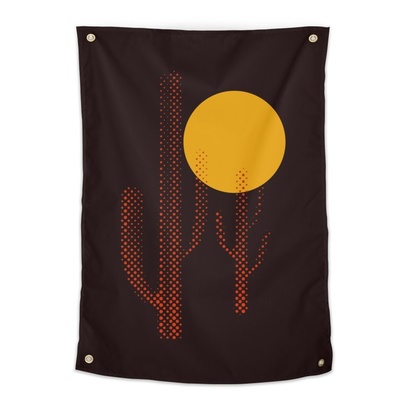red hot chili cactus Home Tapestry by sustici's Artist Shop