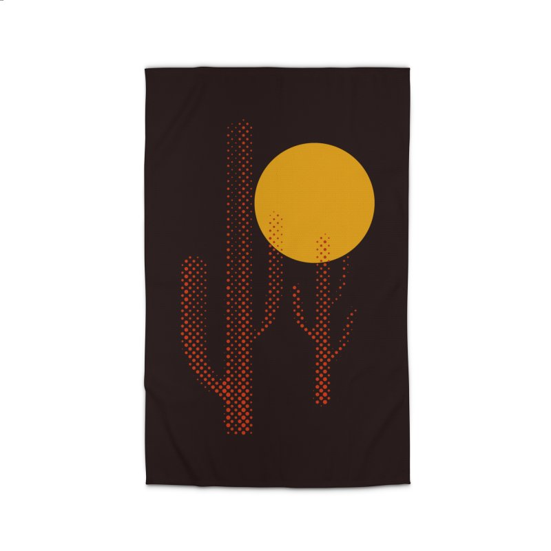 red hot chili cactus Home Rug by sustici's Artist Shop