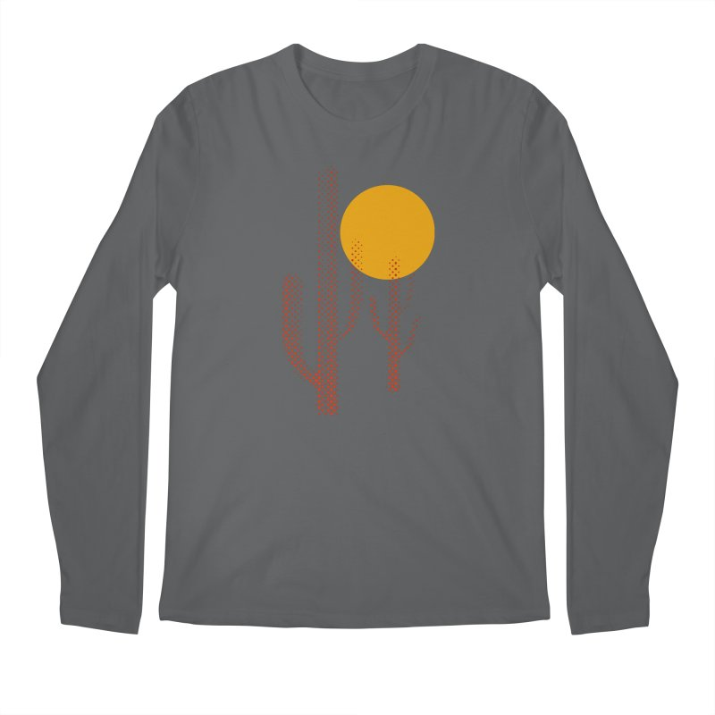 red hot chili cactus Men's Longsleeve T-Shirt by sustici's Artist Shop