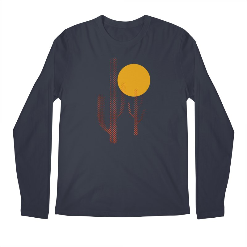 red hot chili cactus Men's Regular Longsleeve T-Shirt by sustici's Artist Shop