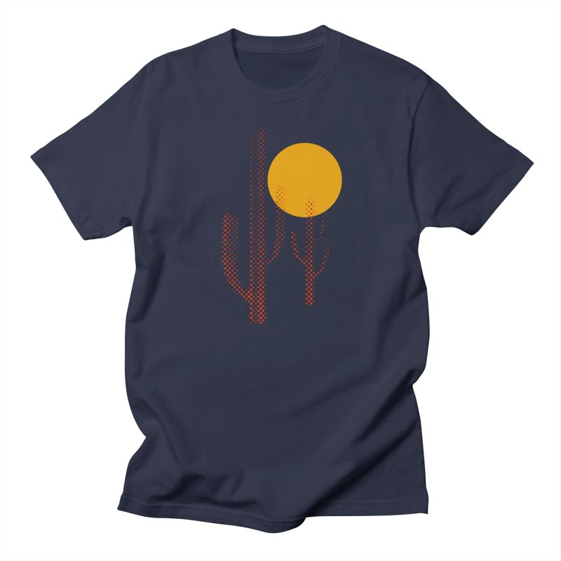 red hot chili cactus Men's Regular T-Shirt by sustici's Artist Shop