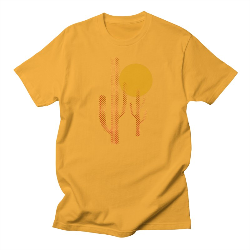 red hot chili cactus Men's T-Shirt by sustici's Artist Shop