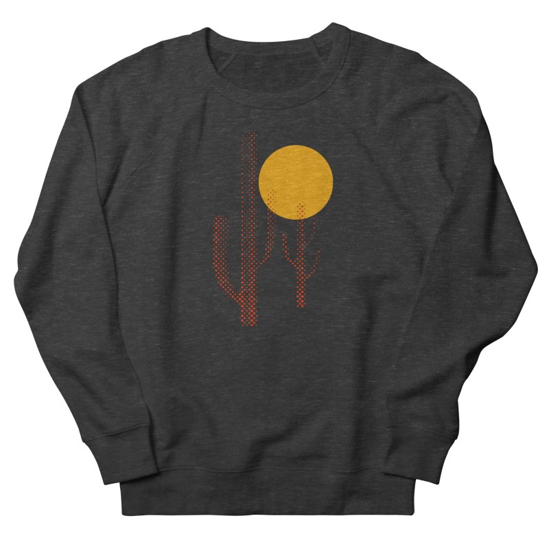 red hot chili cactus Women's French Terry Sweatshirt by sustici's Artist Shop