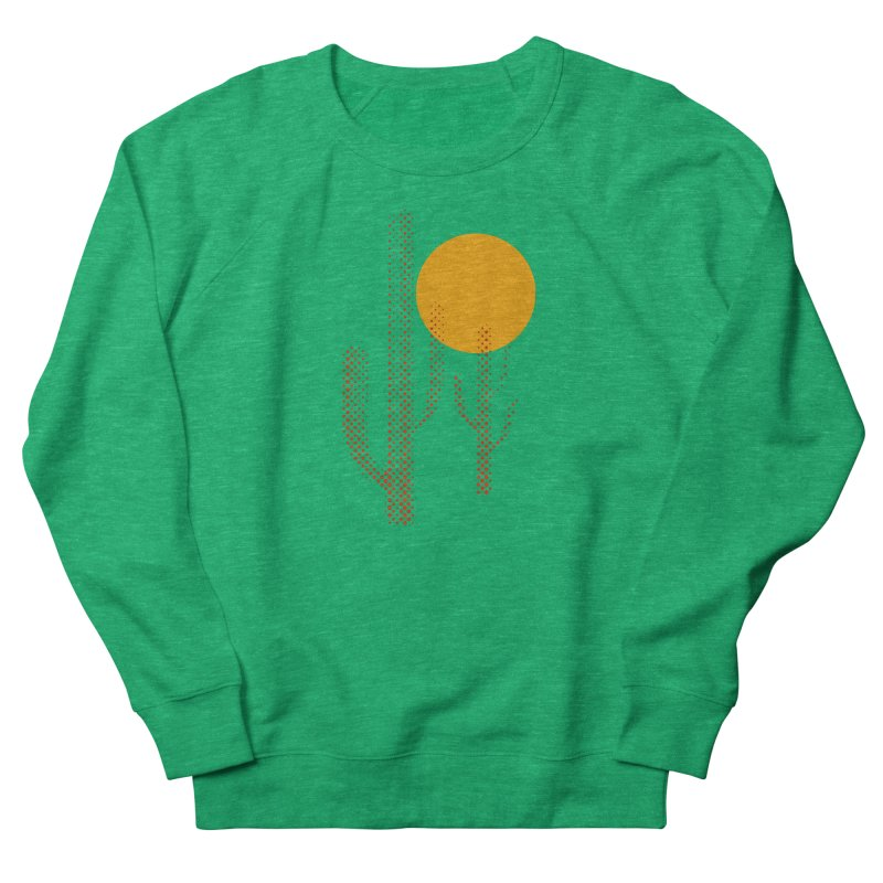 red hot chili cactus Men's French Terry Sweatshirt by sustici's Artist Shop