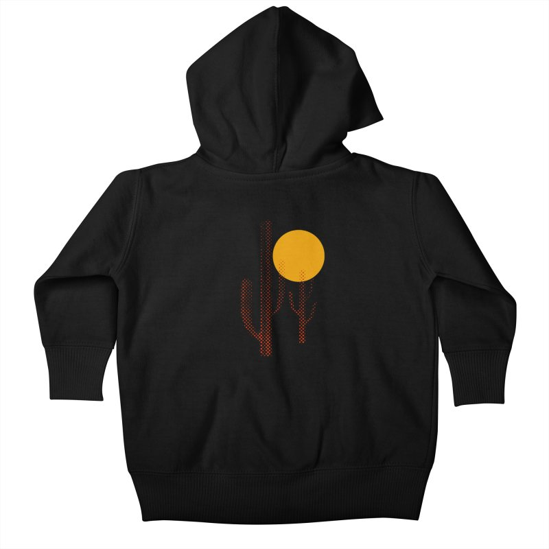 red hot chili cactus Kids Baby Zip-Up Hoody by sustici's Artist Shop