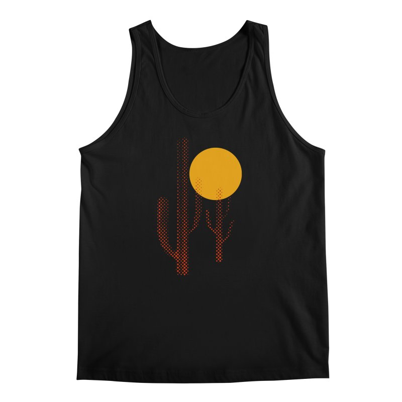 red hot chili cactus Men's Tank by sustici's Artist Shop