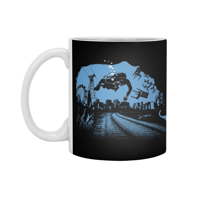 global warming paradise Accessories Standard Mug by sustici's Artist Shop