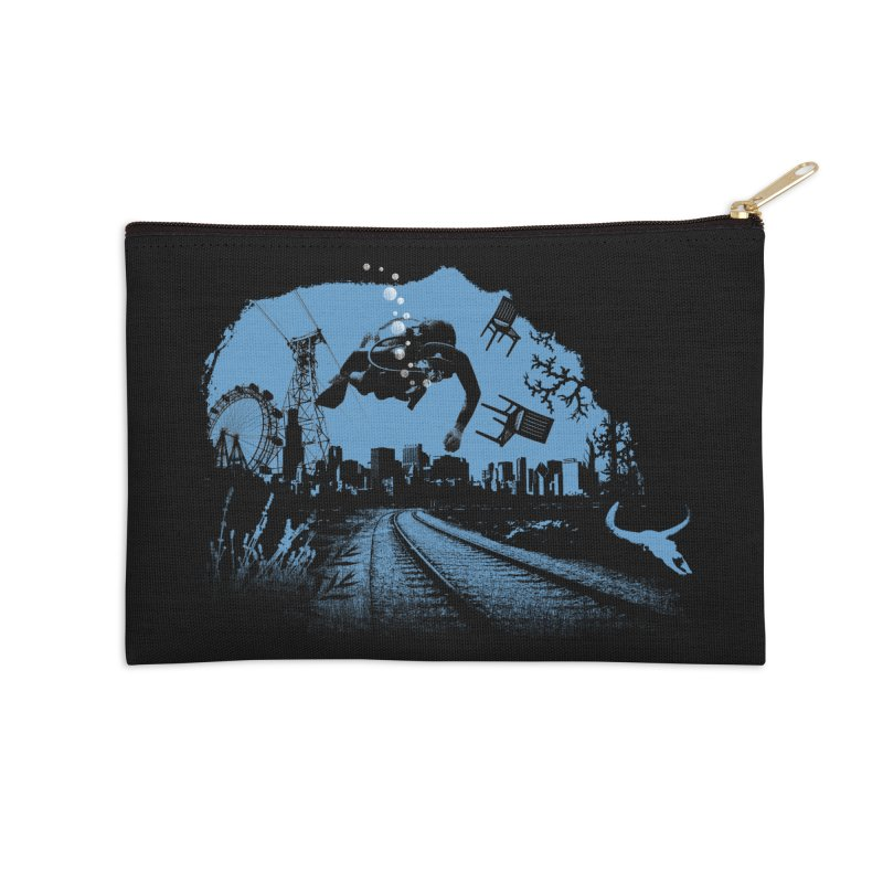 global warming paradise Accessories Zip Pouch by sustici's Artist Shop