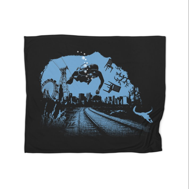 global warming paradise Home Blanket by sustici's Artist Shop