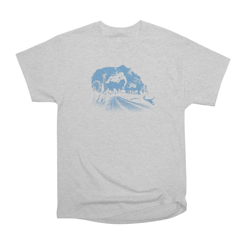 global warming paradise Women's Classic Unisex T-Shirt by sustici's Artist Shop