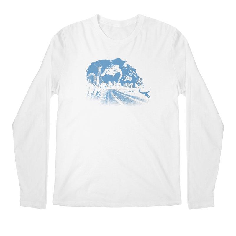 global warming paradise Men's Regular Longsleeve T-Shirt by sustici's Artist Shop