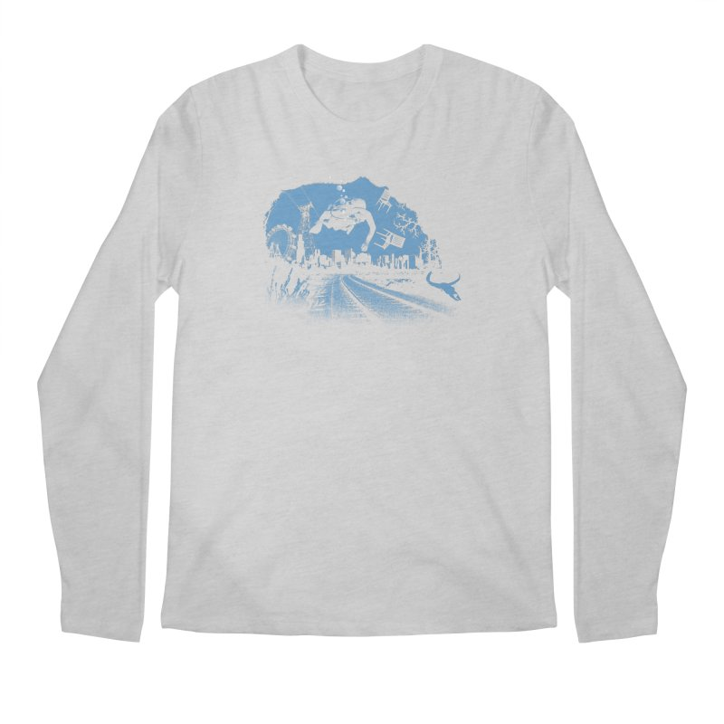 global warming paradise Men's Longsleeve T-Shirt by sustici's Artist Shop