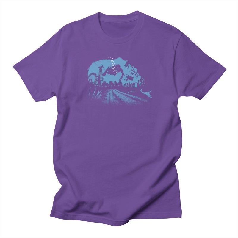 global warming paradise Women's Regular Unisex T-Shirt by sustici's Artist Shop