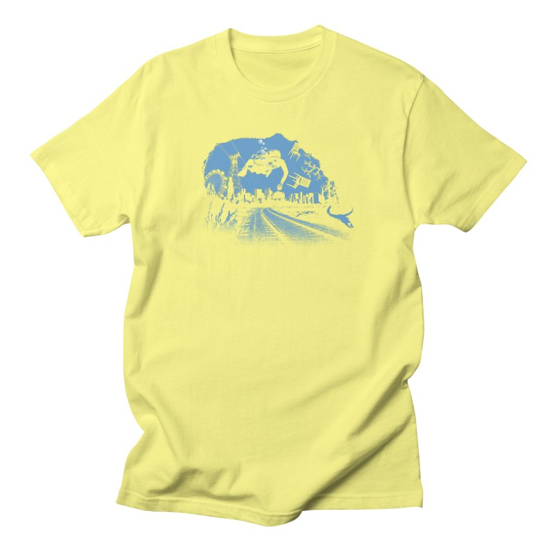 global warming paradise Men's T-Shirt by sustici's Artist Shop