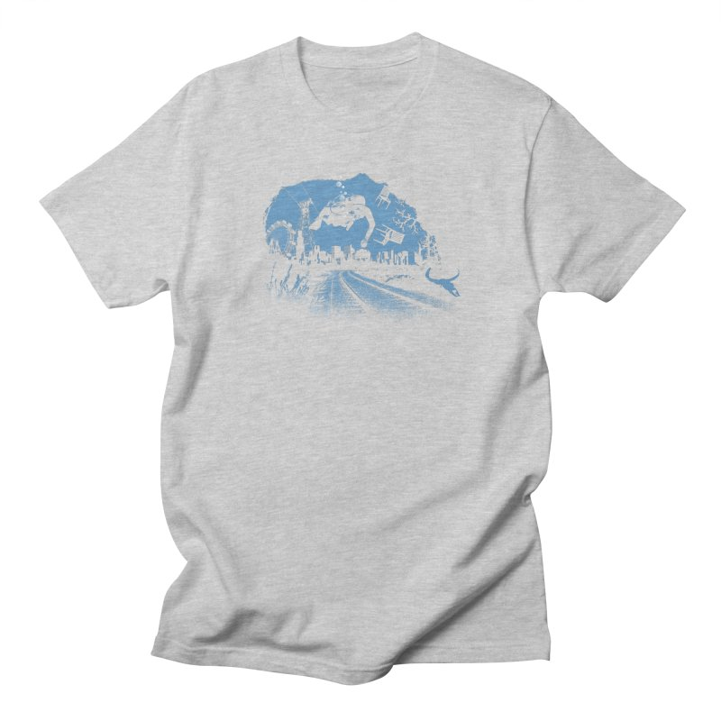 global warming paradise Men's Regular T-Shirt by sustici's Artist Shop