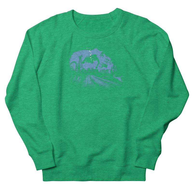 global warming paradise Women's Sweatshirt by sustici's Artist Shop