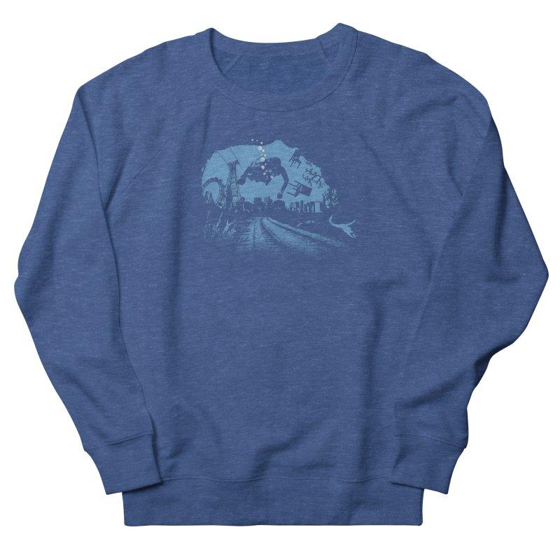 global warming paradise Men's Sweatshirt by sustici's Artist Shop