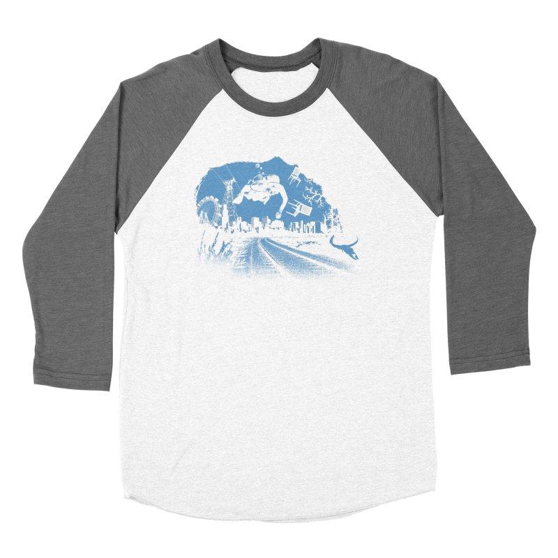global warming paradise Women's Longsleeve T-Shirt by sustici's Artist Shop