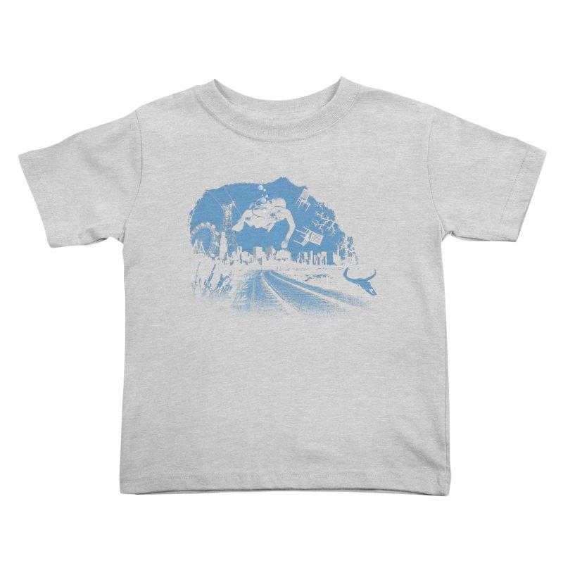 global warming paradise Kids Toddler T-Shirt by sustici's Artist Shop