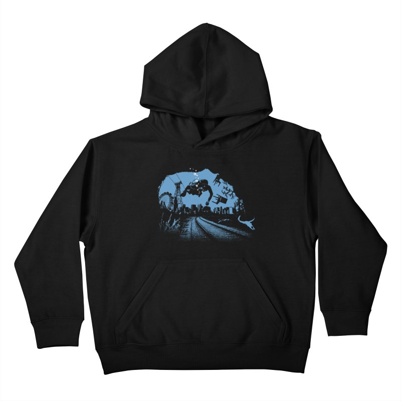 global warming paradise Kids Pullover Hoody by sustici's Artist Shop