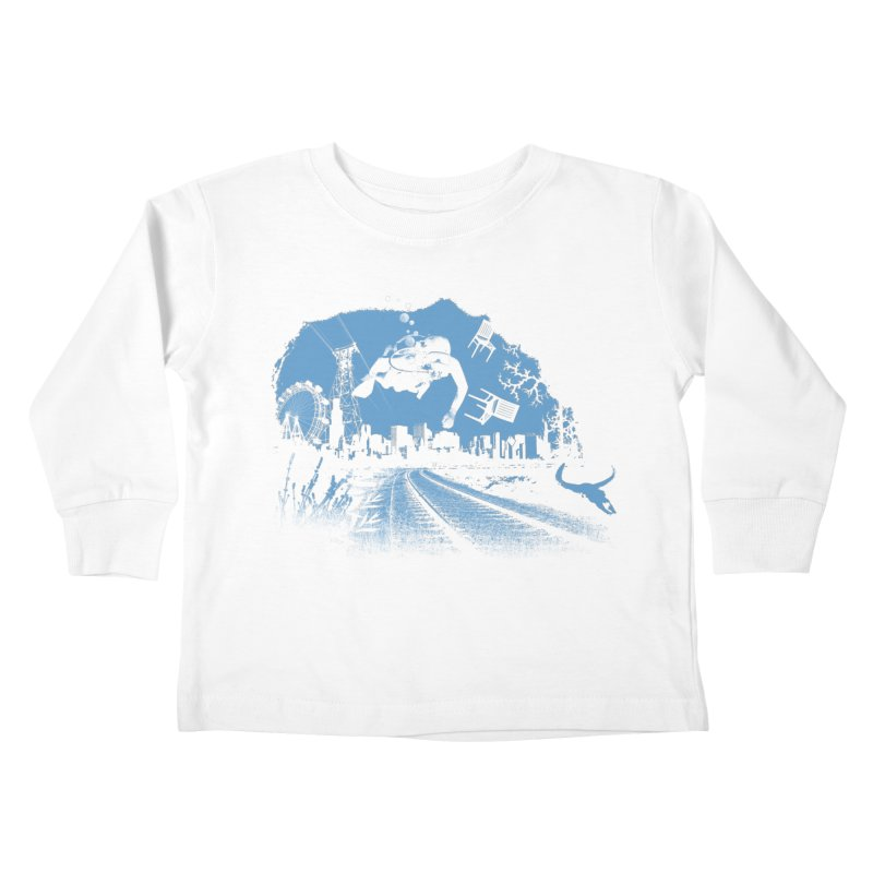 global warming paradise Kids Toddler Longsleeve T-Shirt by sustici's Artist Shop