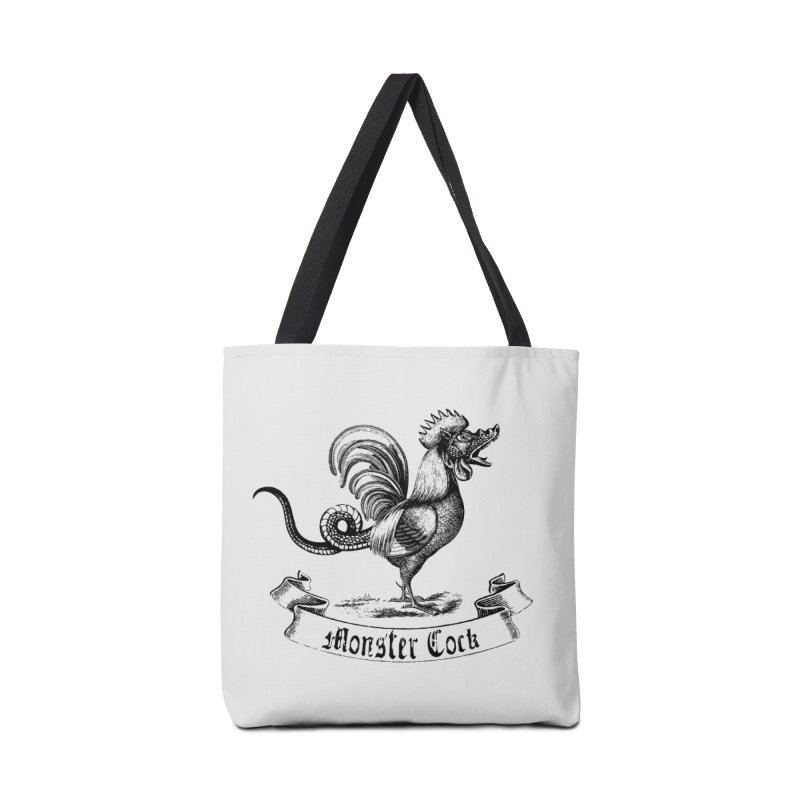 surreal monster cock Accessories Tote Bag Bag by sustici's Artist Shop