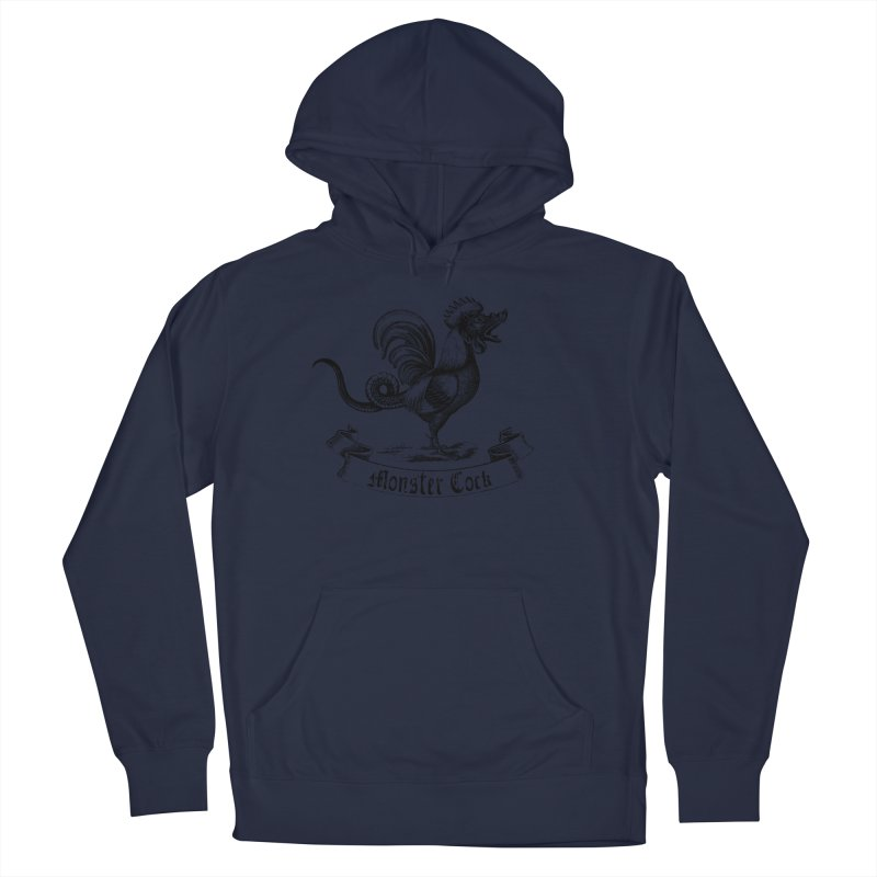 surreal monster cock Men's Pullover Hoody by sustici's Artist Shop