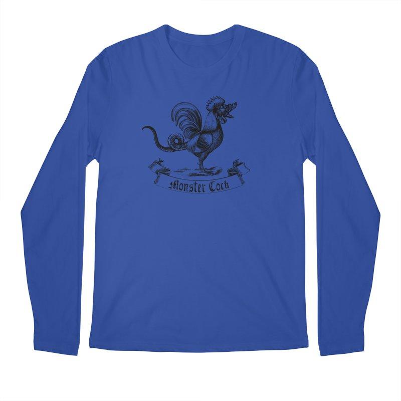 surreal monster cock Men's Regular Longsleeve T-Shirt by sustici's Artist Shop