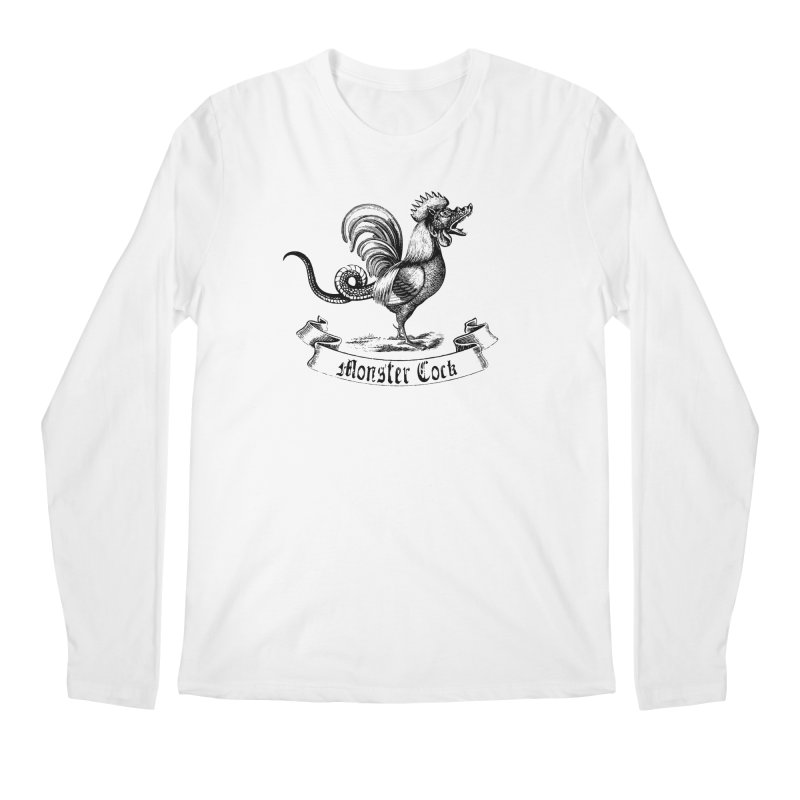 surreal monster cock Men's Longsleeve T-Shirt by sustici's Artist Shop
