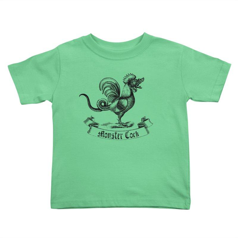 surreal monster cock Kids Toddler T-Shirt by sustici's Artist Shop