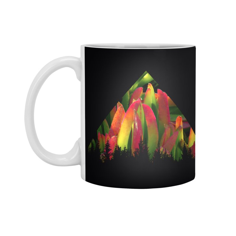 Succulent Pyramid Accessories Standard Mug by sustici's Artist Shop