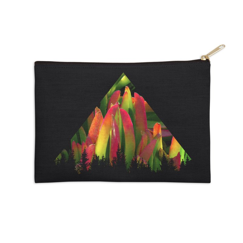 Succulent Pyramid Accessories Zip Pouch by sustici's Artist Shop