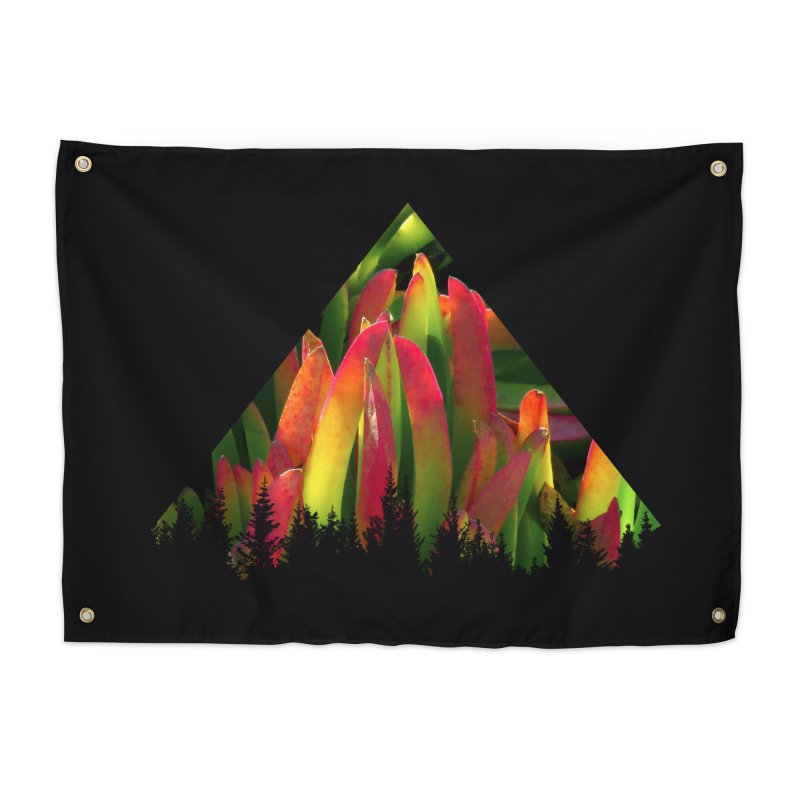 Succulent Pyramid Home Tapestry by sustici's Artist Shop