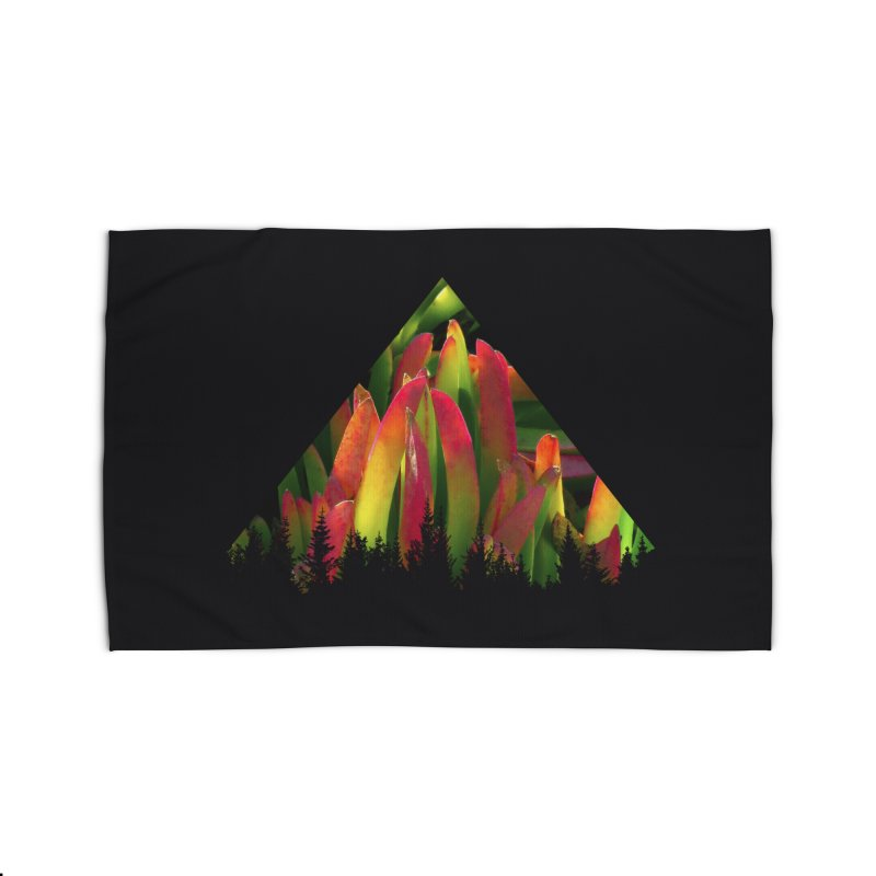 Succulent Pyramid Home Rug by sustici's Artist Shop