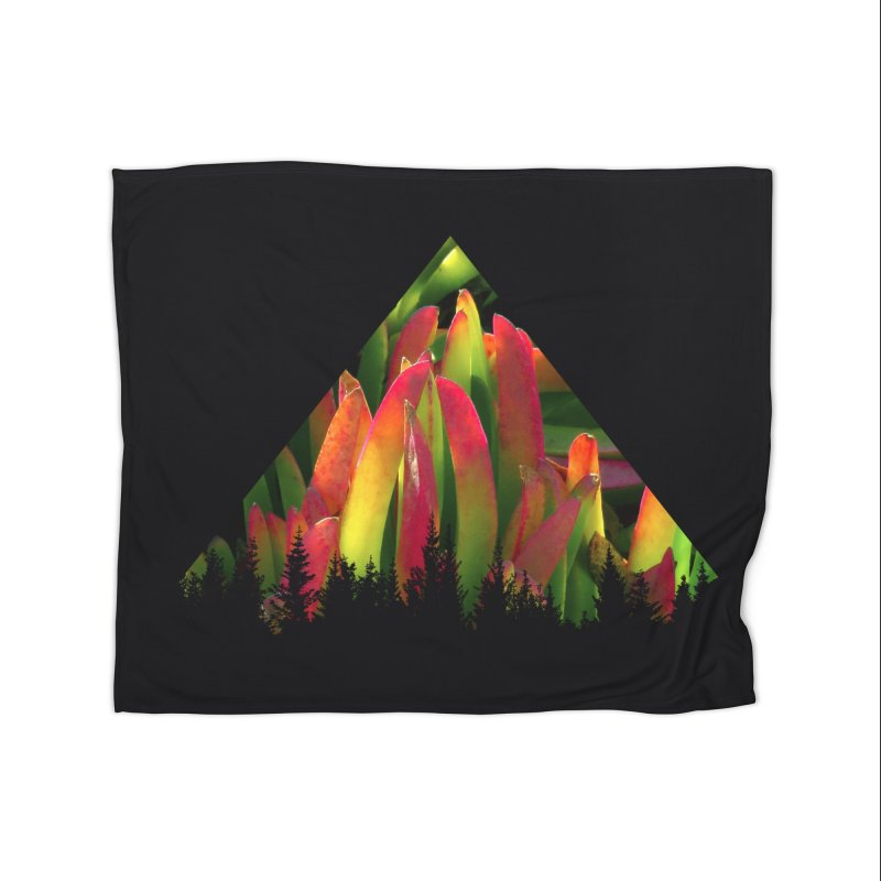 Succulent Pyramid Home Blanket by sustici's Artist Shop