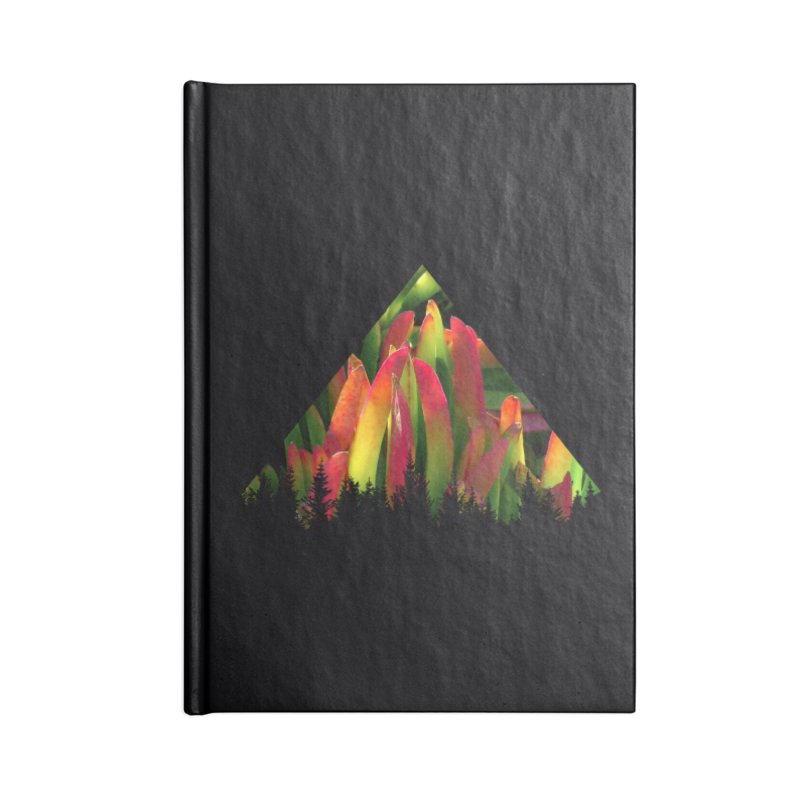 Succulent Pyramid Accessories Blank Journal Notebook by sustici's Artist Shop