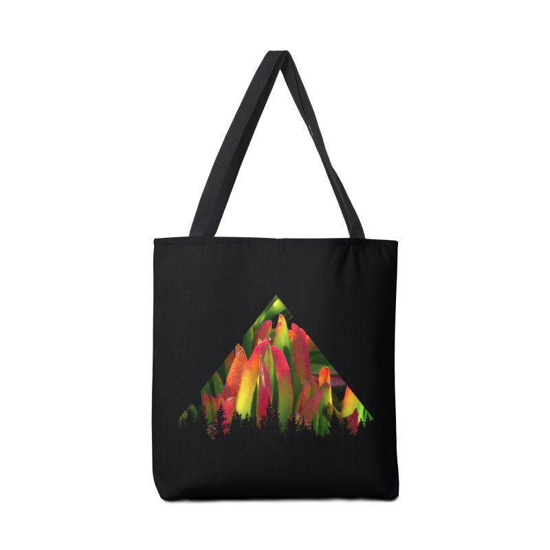 Succulent Pyramid Accessories Bag by sustici's Artist Shop