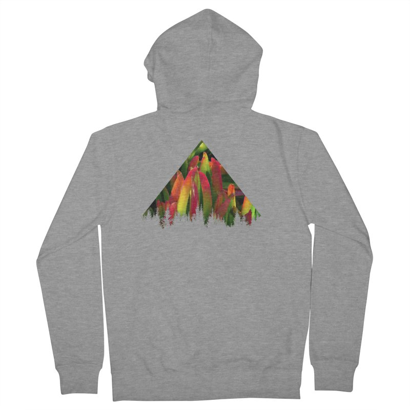 Succulent Pyramid Men's Zip-Up Hoody by sustici's Artist Shop