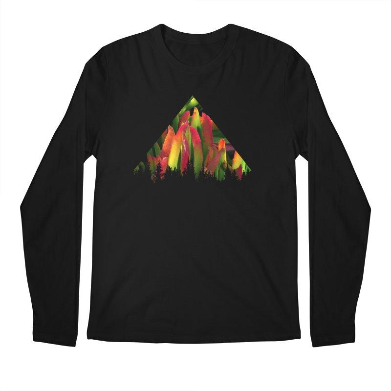 Succulent Pyramid Men's Regular Longsleeve T-Shirt by sustici's Artist Shop