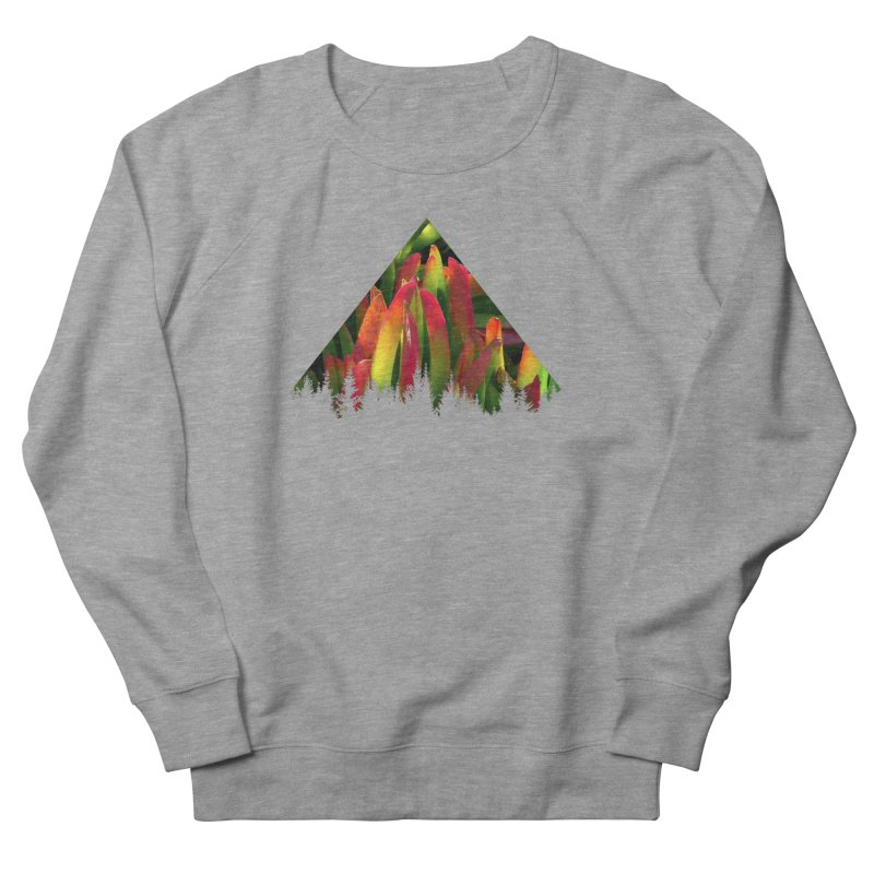Succulent Pyramid Women's French Terry Sweatshirt by sustici's Artist Shop