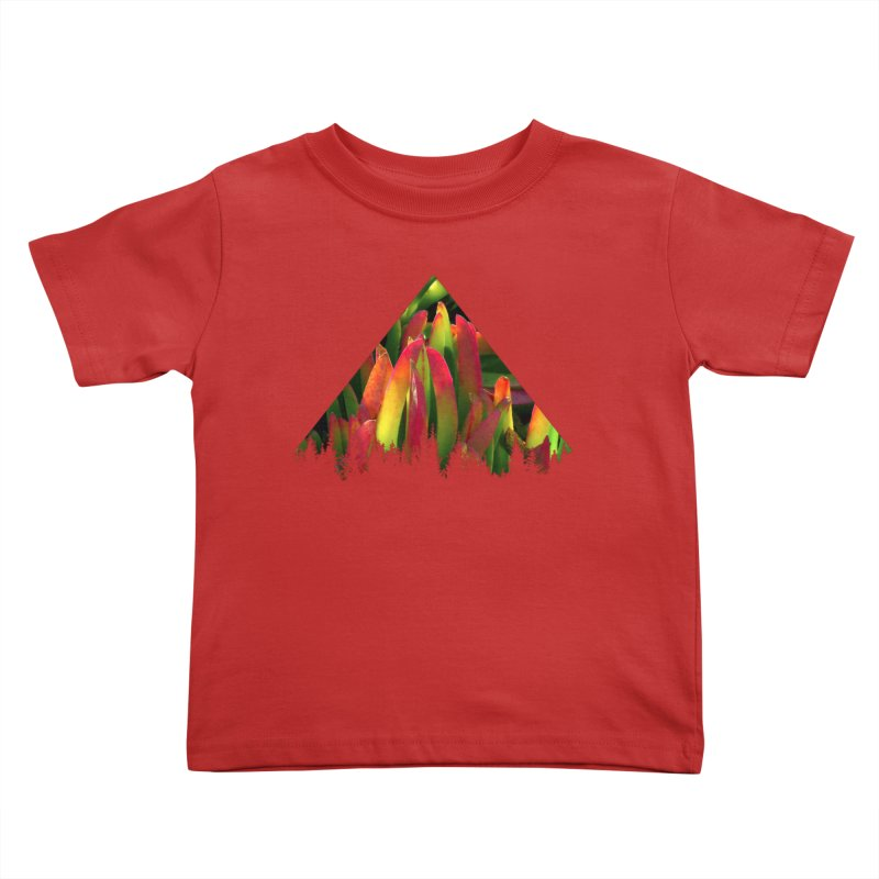 Succulent Pyramid Kids Toddler T-Shirt by sustici's Artist Shop