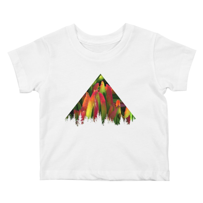 Succulent Pyramid Kids Baby T-Shirt by sustici's Artist Shop